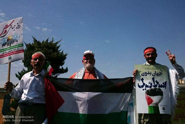 ايران تحيي يوم القدس العالمي بمسيرات حاشدة