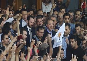 أردوغان: الحكومة تسيطر على البلاد