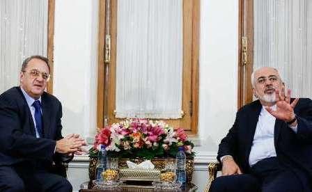 المبعوث الخاص للرئیس الروسی یلتقی ظریف فی طهران