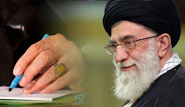 قائد الثورة يشكر الرياضيين الايرانيين الذين شاركوا في المبياد ريو