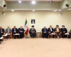 صباح اليوم: لقاء رئيس الجمهورية وأعضاء مجلس الوزارة بالمرشد الأعلى للثورة