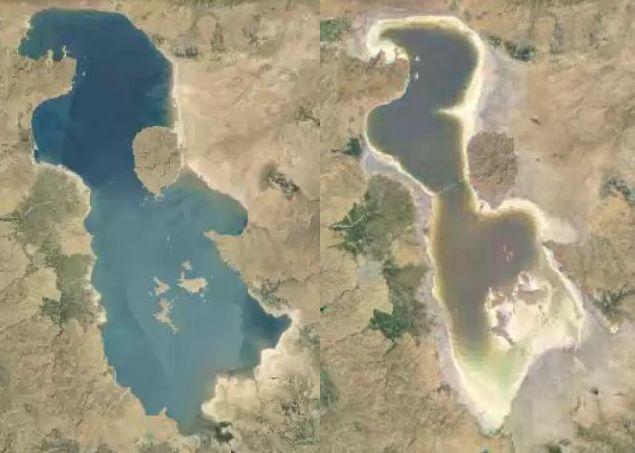 احياء بحيرة أرومية