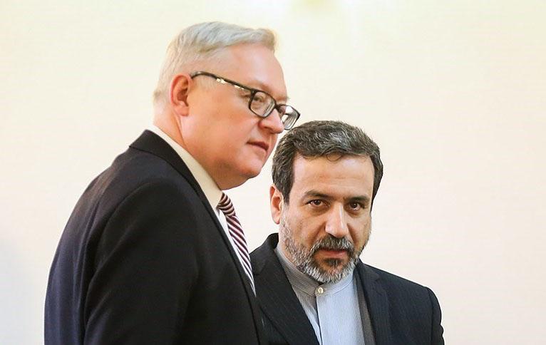 مشاورات ريابكوف مع عراقجي اليوم في طهران