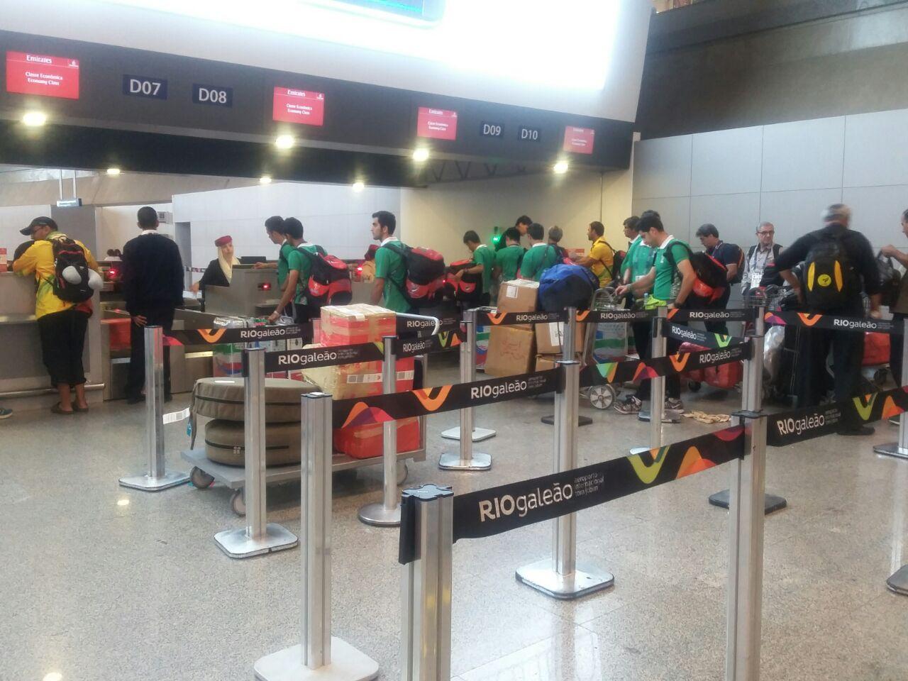 عودة قافلة شهداء منی من مسابقات ریو