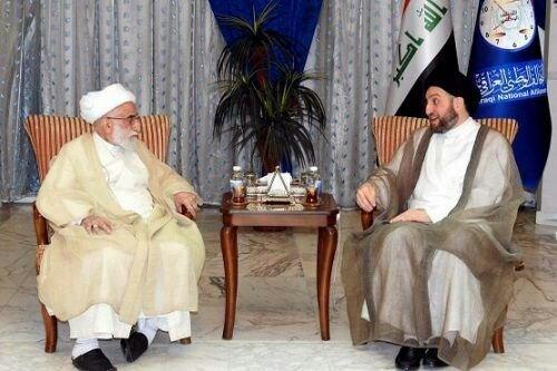 رئيس مجلس الخبراء يستقبل عمار الحكيم
