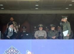 قائد الثورة یؤکد علی ضرورة جهوزیة القوات المسلحة التامة وعلی اقرار العالم بعظمة الشعب الایرانی