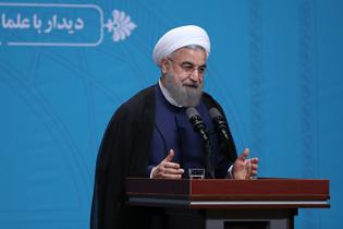 روحاني: ايران لم تكن على مر التاريخ ناقضة للعهد ولن تكون