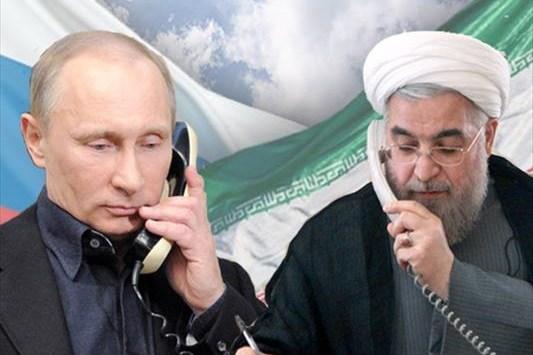 روحاني وبوتين يؤكدان على ضرورة استمرار مكافحة التنظيمات الارهابية في سوريا
