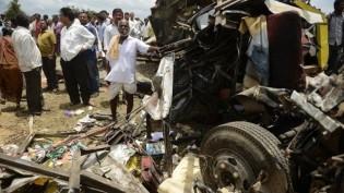 الهند... مصرع 25 طفلا في حادث سير