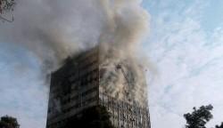 انهيار مبنى