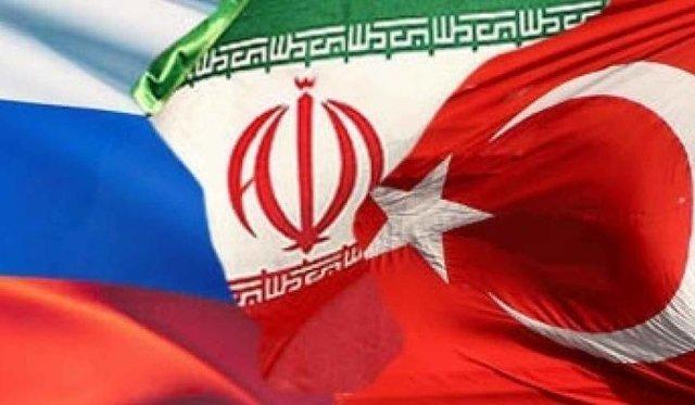 ثاني جولة من المحادثات الثلاثية بين ايران وروسيا وتركيا في كازاخستان