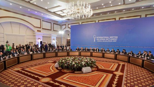 ممثلو الحكومة السورية والمعارضة يستأنفون اليوم محادثات السلام في كازاخستان