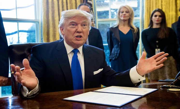 ترامب يقول انه سيسعى الى اجراء تحقيق في التزوير المزعوم للانتخابات