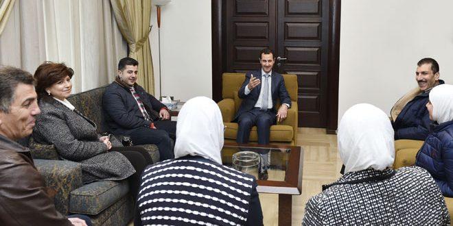 الأسد: إرادة الحياة عند السوريين هي إحدى أهم عوامل صمود سورية في وجه ما تتعرض له