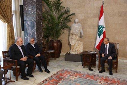 الرئيس اللبناني: ندعو إلي حل الأزمة السورية بالسبل السياسية