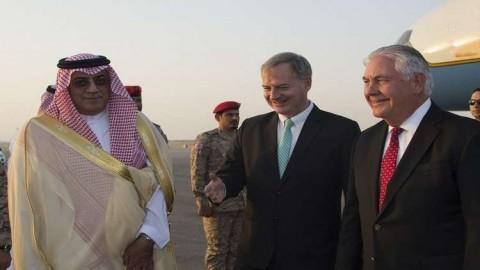 تيلرسون يرعى في الرياض تقاربا سعوديا عراقيا