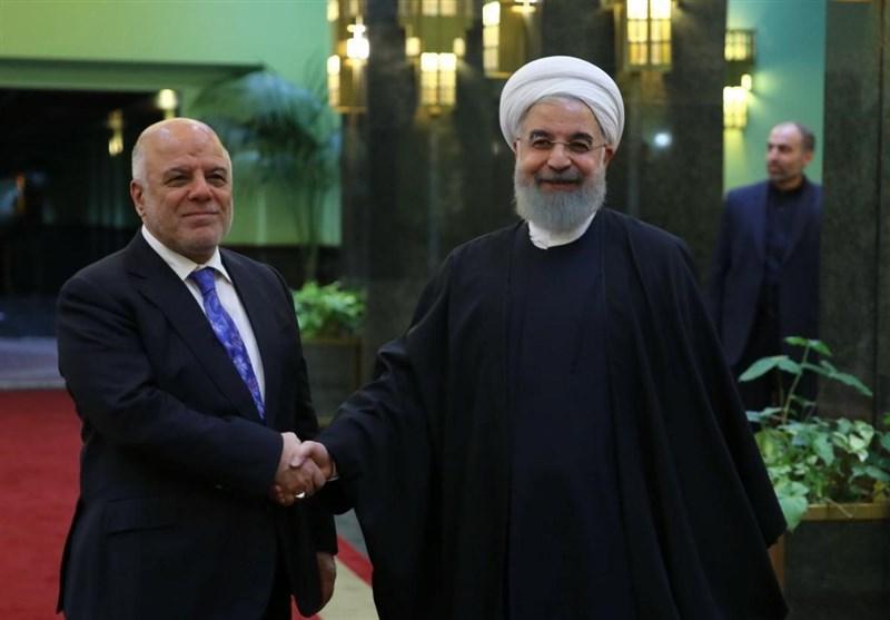 روحاني: إيران ستبقى الى جانب العراق في مكافحة الارهاب وإعادة الاعمار