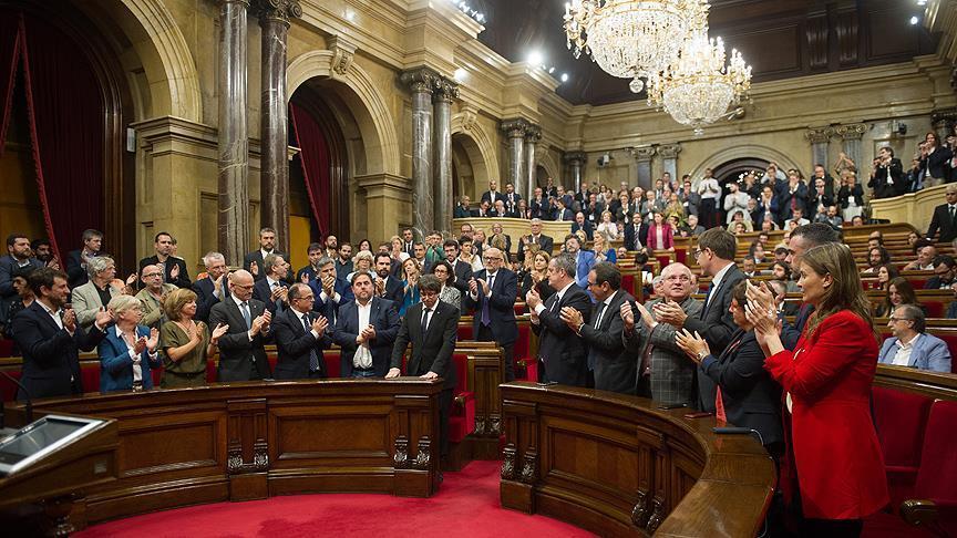 برلمان كتالونيا يعلن
