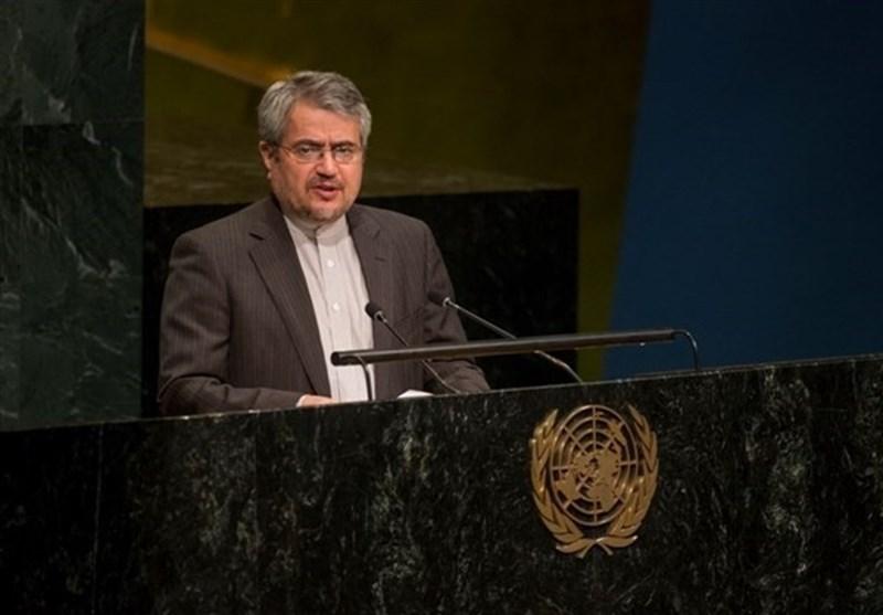 خوشرو: نطالب بنزع الأسلحة النووية من الدول المالكة لها