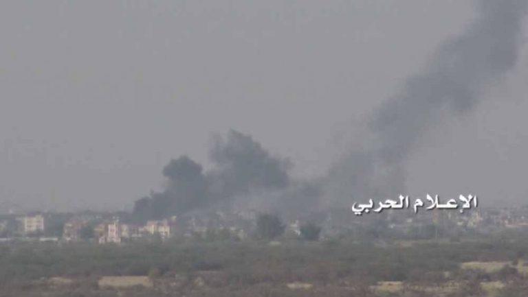 اليمن: إسقاط طائرة تايفون سعودية واستهداف مستودع أسلحة سعودي بصاروخ باليستي