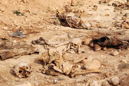 العثور على سادس مقبرة جماعية للقوات العراقية بالحويجة