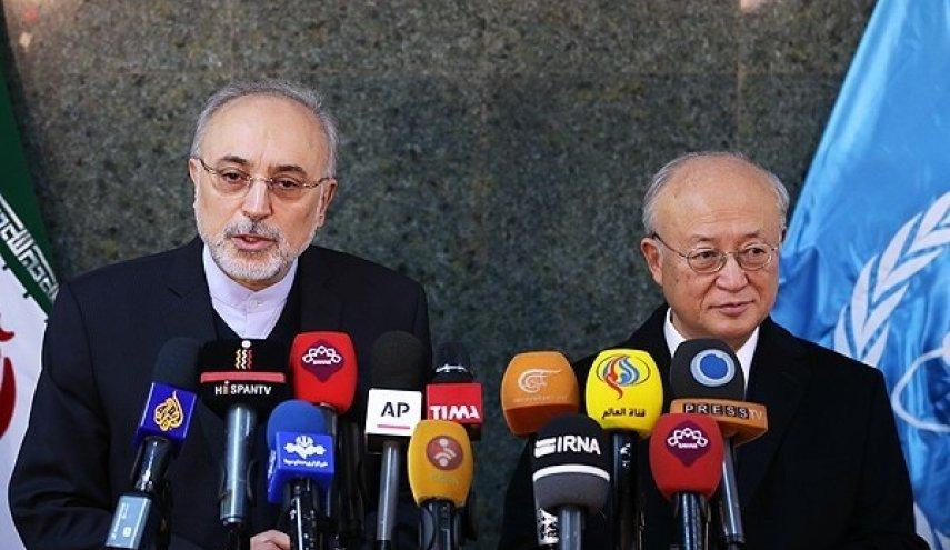 صالحي : نشعر بالارتياح تجاه تقارير الوكالة الدولية