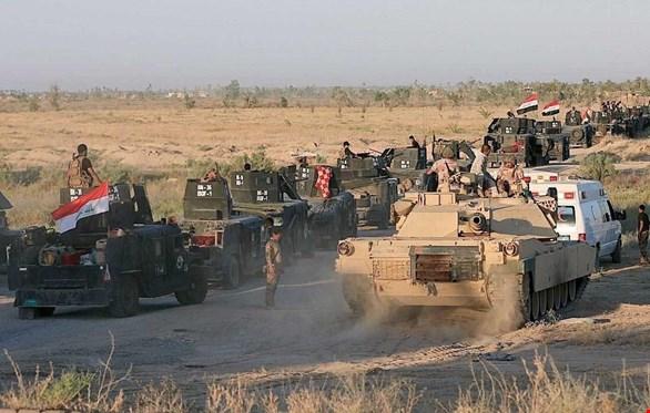 القوات العراقية تتقدم بشكل سريع باتجاه القائم