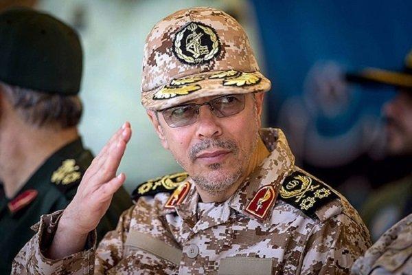 اللواء باقري : لا يمكن اتخاذ اي قرار في منطقة غرب اسيا دون حضور ايران