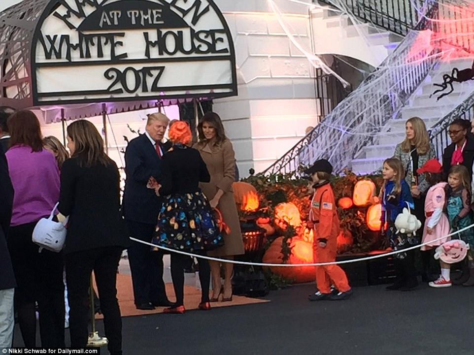بالصور..الهالوين فى البيت الأبيض
