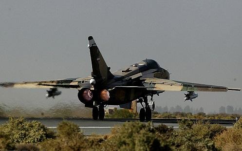 إنطلاق مناورات الإقتدار الجوي السابعة للجيش الإيراني