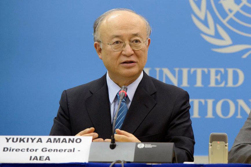 امانو يؤكد مجددا التزام ايران بالاتفاق النووي