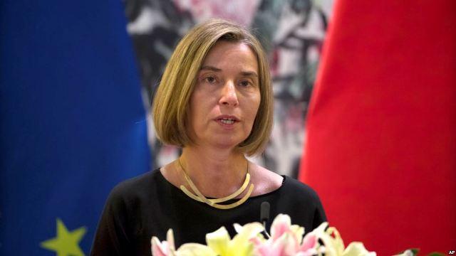 موغريني: الاتحاد الأوروبي سيحافظ علي الاتفاق النووي مع إيران