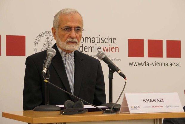 خرازي: لولا دعم ايران لكانت العراق وسوريا بيد الجماعات الارهابية
