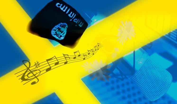 اختراق إذاعة سويدية وبث أنشودة لتنظيم داعش