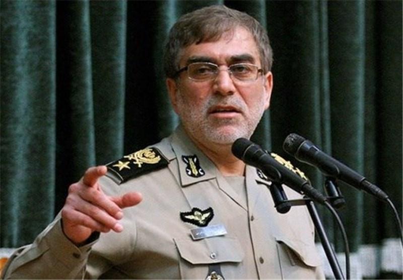 العمید دادرس: الجيش الايراني يرصد التهديدات الاقليمية بدقة