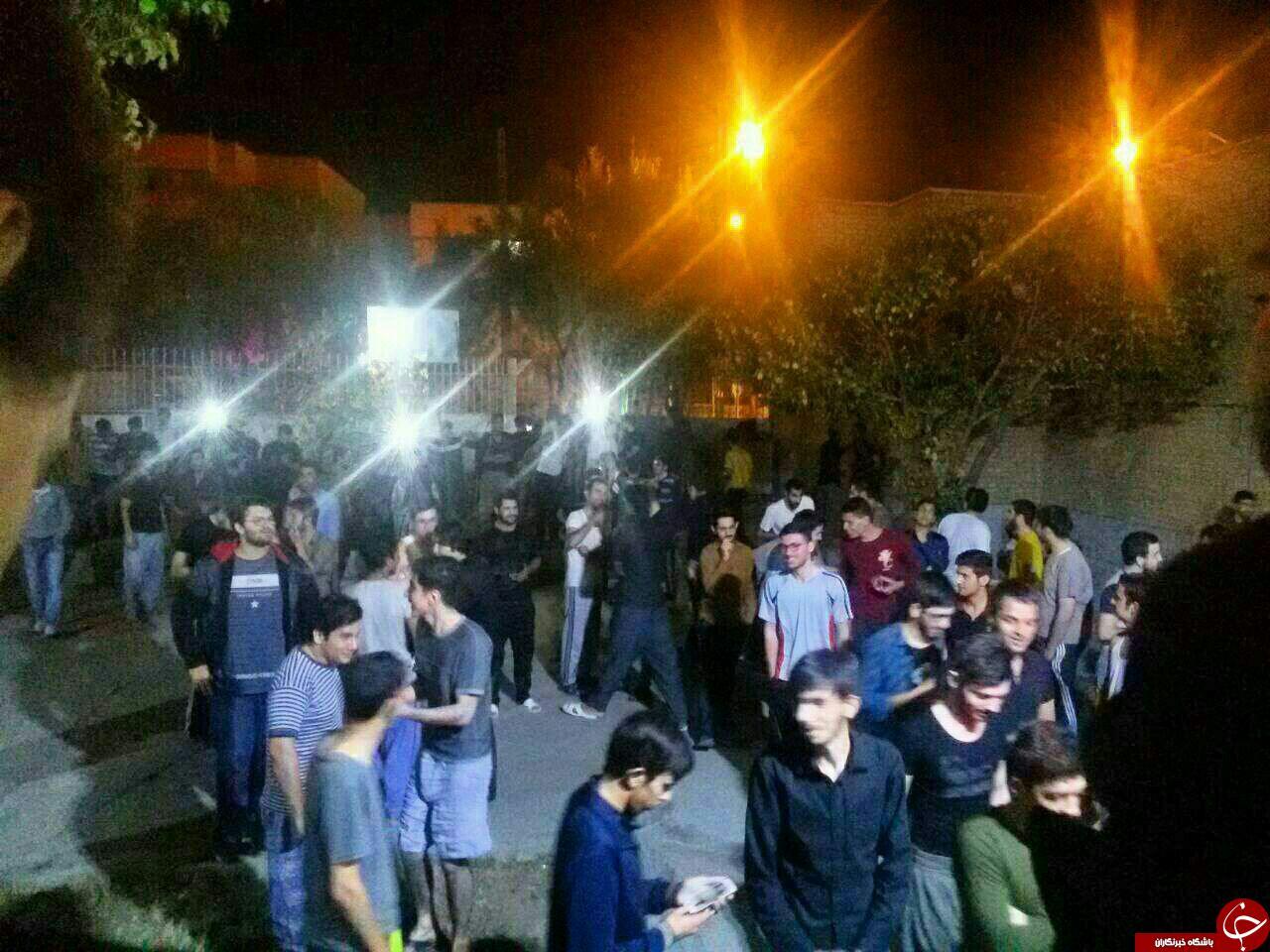 بالصور..زلزال عنیف هز غرب ایران
