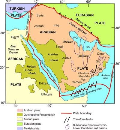 توقعات وكالة المسح الجيولوجي الأمريكية بزلزال مدمر يضرب بعنف إقليم الشرق الأوسط بأكمله