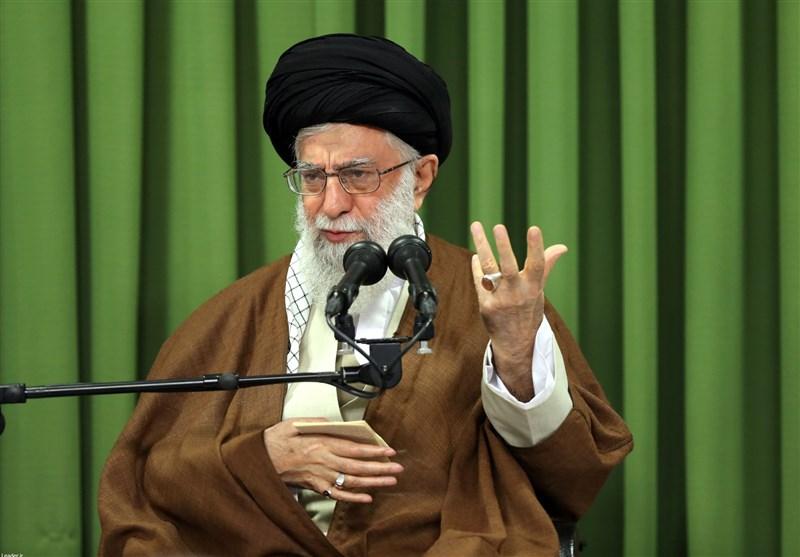 قائد الثورة الاسلامية يثمن جهود الحكومة والشعب العراقي في اقامة مراسم الاربعين