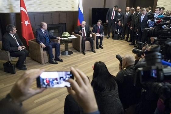 بوتين وأردوغان يتفقان على التركيز على الحل السياسي في سوريا