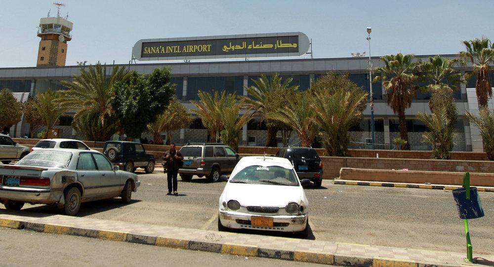 أنصار الله: التحالف قصف مطار صنعاء لمنع وصول رحلات الإغاثة التابعة للأمم المتحدة