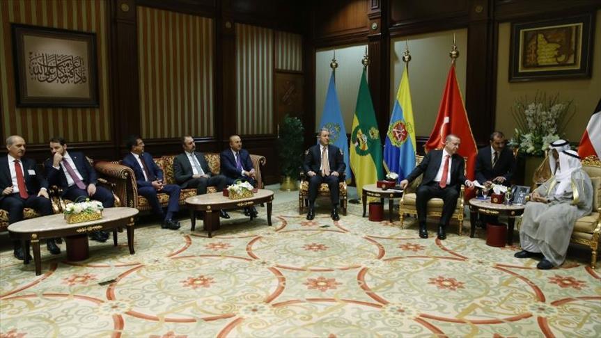 تركيا والكويت توقعان مجموعة من اتفاقيات التعاون المشترك