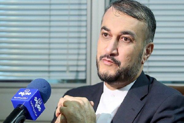 عبداللهيان: استراتيجية الكيان الصهيوني اثارة الازمة والتوتر في المنطقة