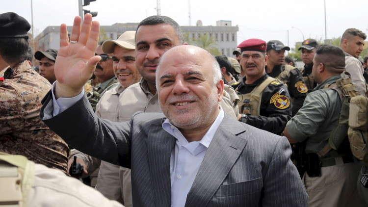 العبادي: تحرير قضاء راوة في وقت قياسي يعكس قوة وقدرة الجيش العراقي