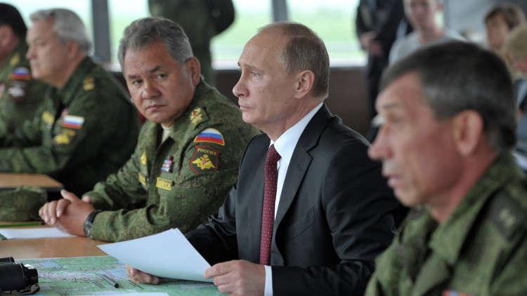 بوتين يصدر مرسوما رئاسيا يحدد عدد القوات المسلحة الروسية