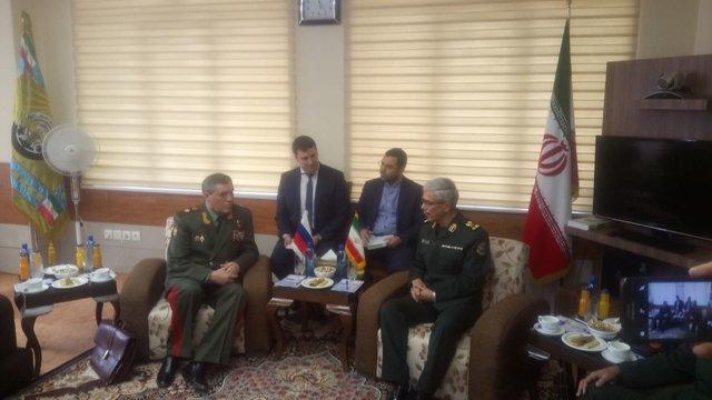 إستمرار التعاون العسکري بین إیران وروسیا لمساعدة جبهة المقاومة
