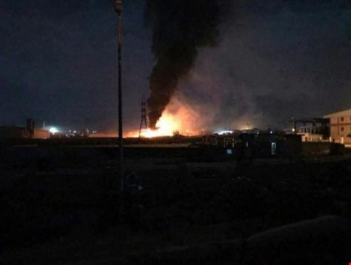 طائرات إسرائيلية تغير على منشأة صناعية بريف حمص.. والدفاعات الجوية السورية تتصدى