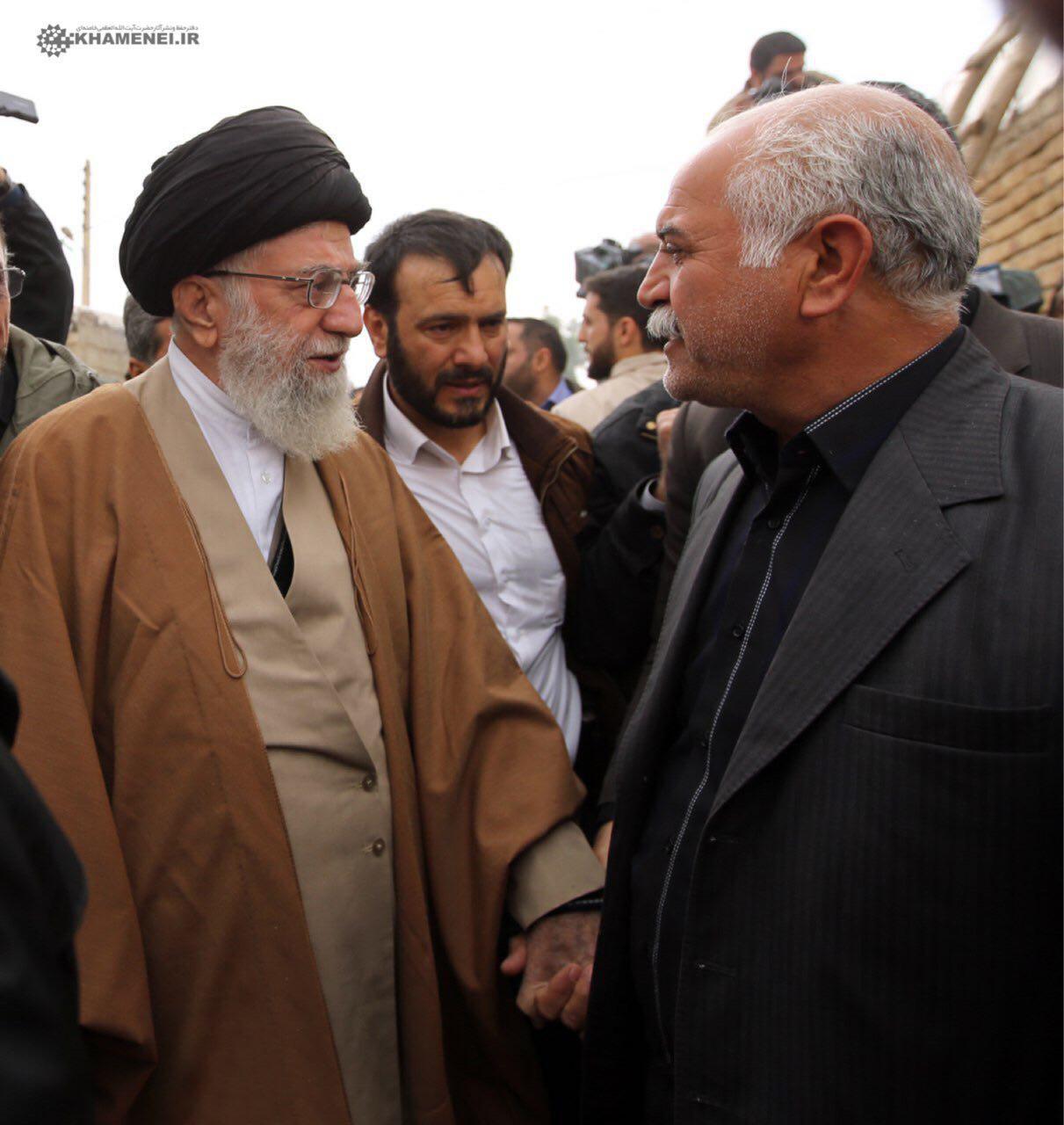 بالصور...قائد الثورة الإسلامیة في زیارة تفقدیة لکرمانشاه