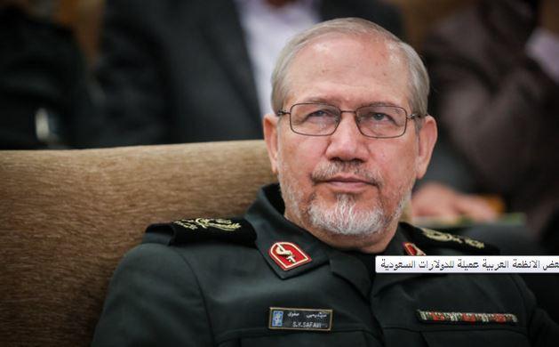 اللواء صفوي: بعض الانظمة العربية عميلة للدولارات السعودية