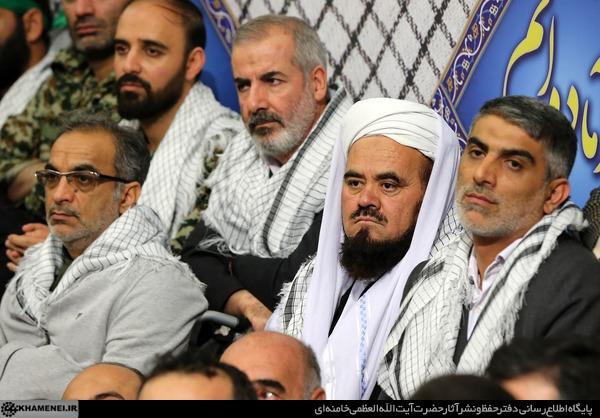 بالصور..إستقبال قائد الثورة عن قادة واعضاء منظمة تعبئة المستضعفين