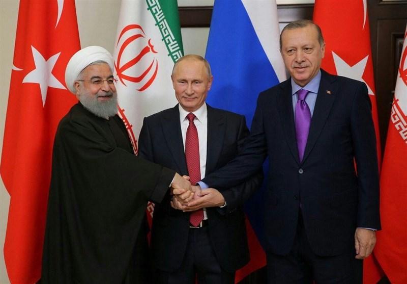 ايران وروسيا وتركيا ستواصل تعاونها حتى القضاء على الارهابيين بالكامل